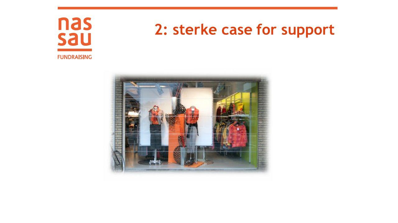 2: sterke case for support