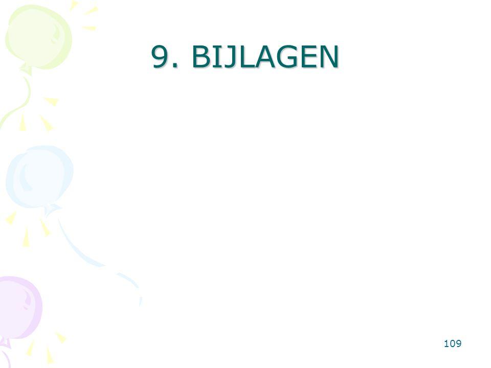 109 9. BIJLAGEN