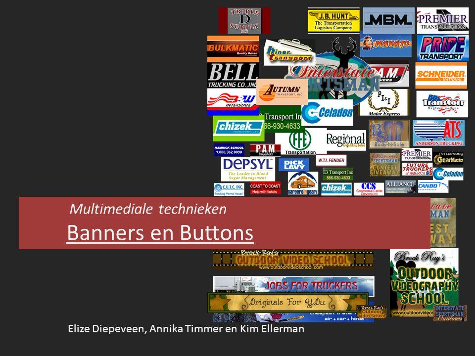 Inhoudsopgave  Wat zijn banners en buttons.Geschiedenis Prijzen  Soorten banners en buttons.