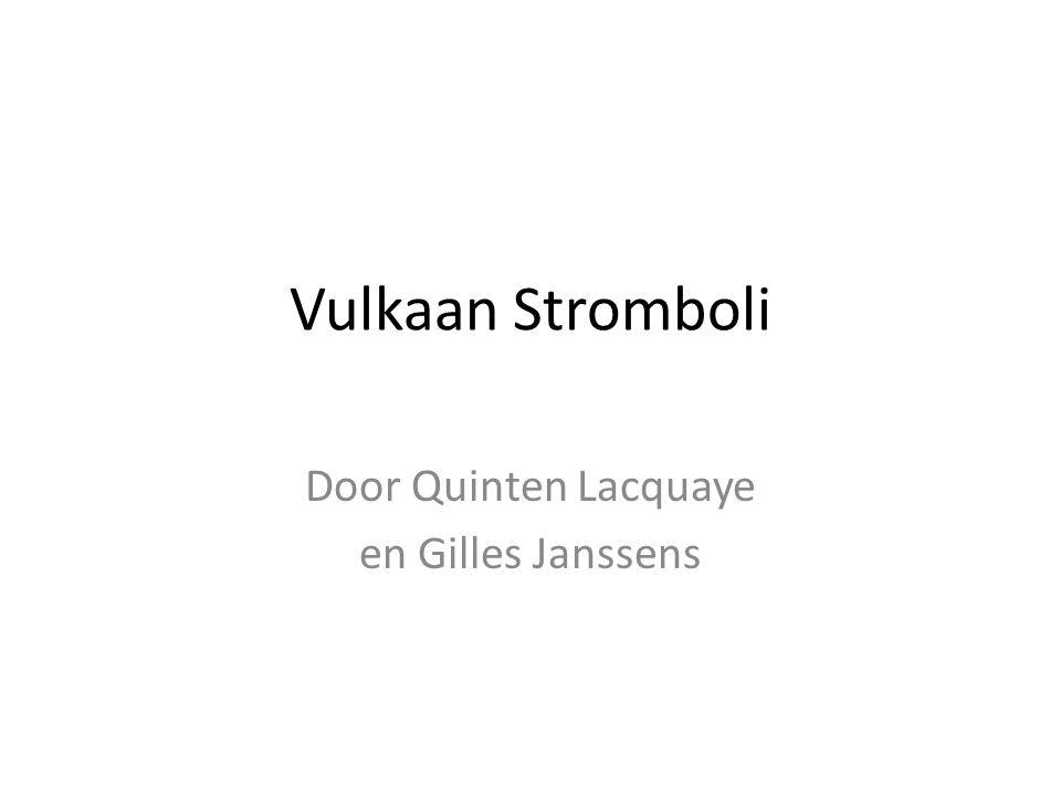 Vulkaan Stromboli Door Quinten Lacquaye en Gilles Janssens