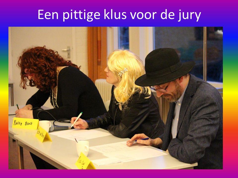 Een pittige klus voor de jury
