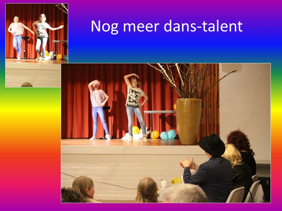 Nog meer dans-talent