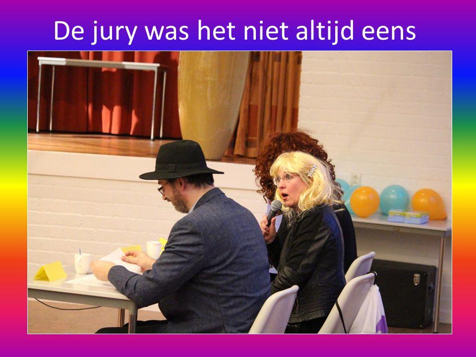 De jury was het niet altijd eens