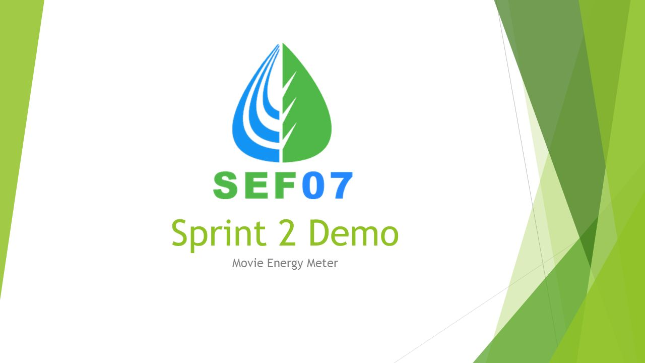Sprint 2 Demo Movie Energy Meter