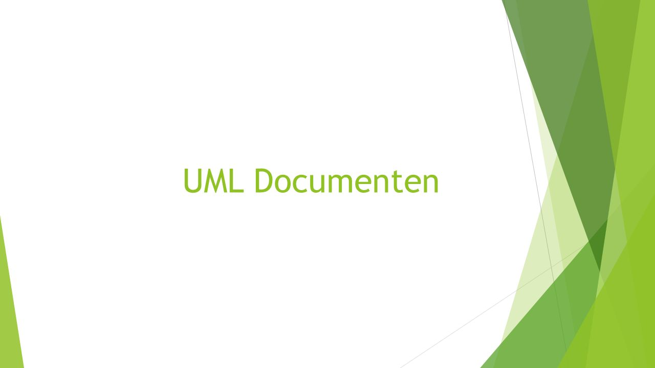 UML Documenten