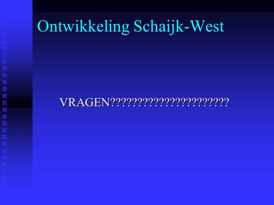 Ontwikkeling Schaijk-West VRAGEN VRAGEN