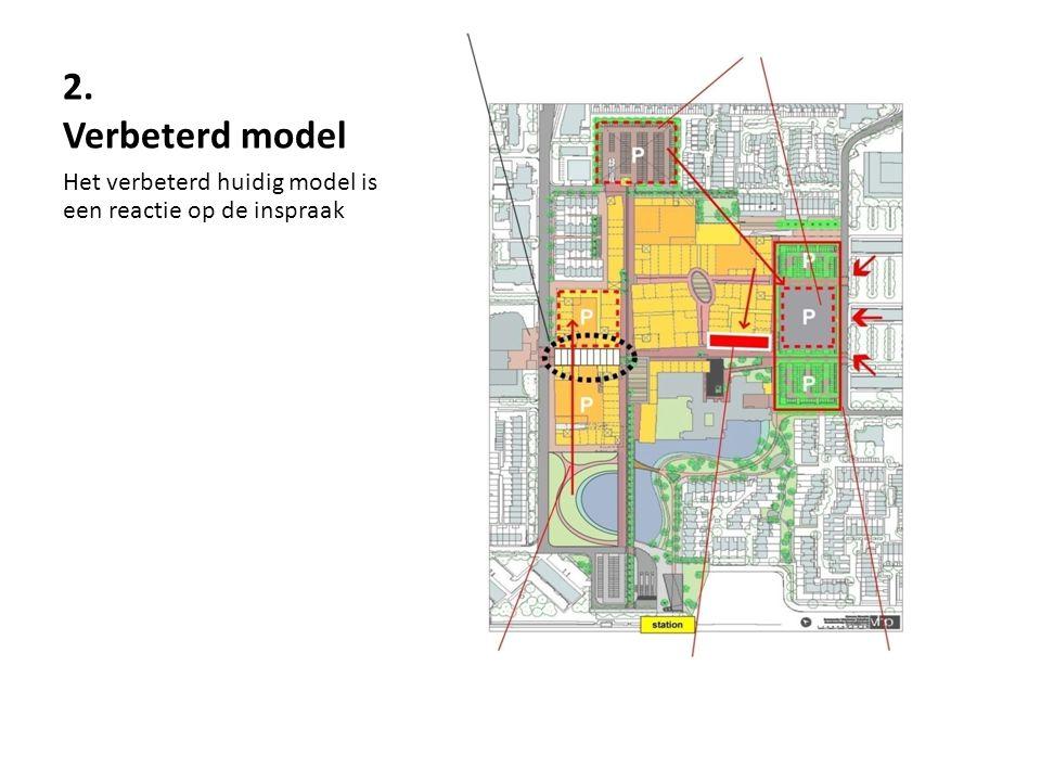 2. Verbeterd model Het verbeterd huidig model is een reactie op de inspraak