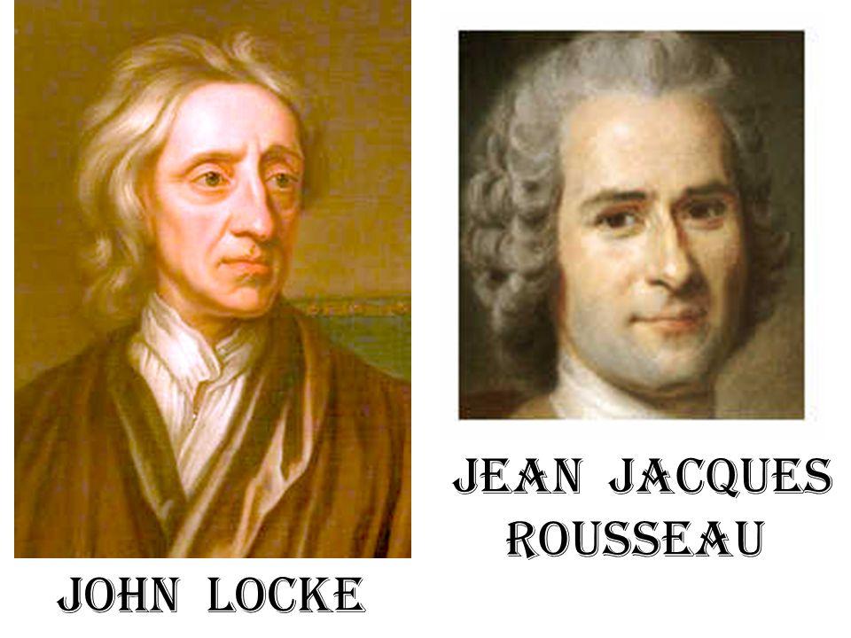 Locke ↔ Rousseau Locke: Burger-koning-invloed vastleggen.