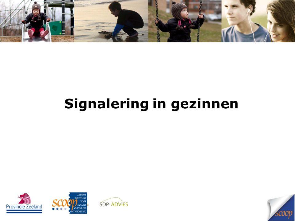 Signalering in gezinnen