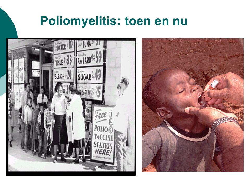 Poliomyelitis: toen en nu