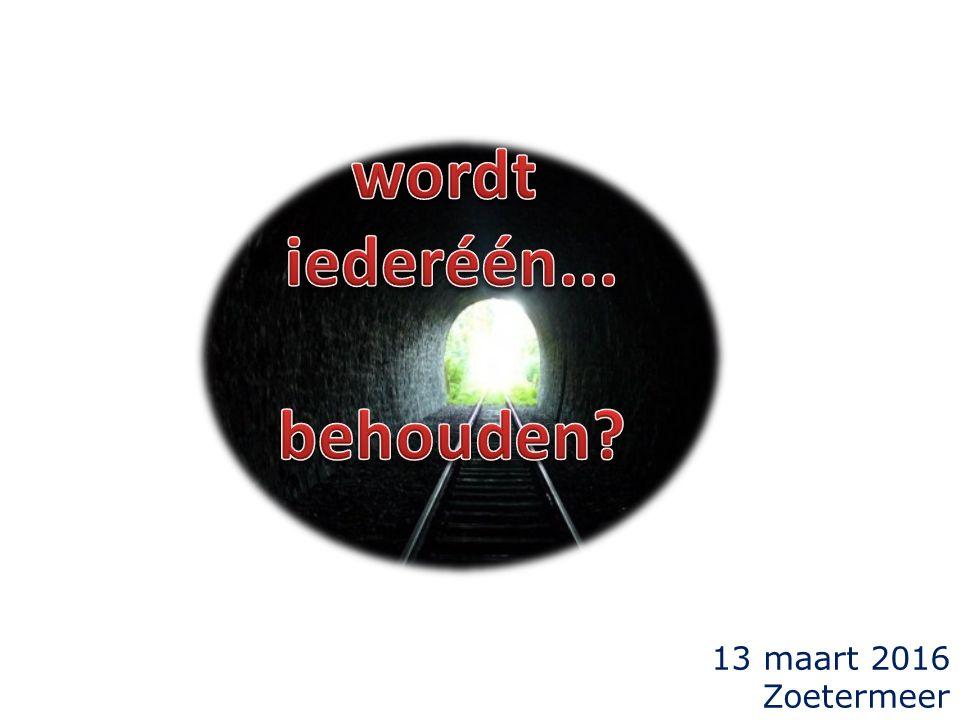 13 maart 2016 Zoetermeer