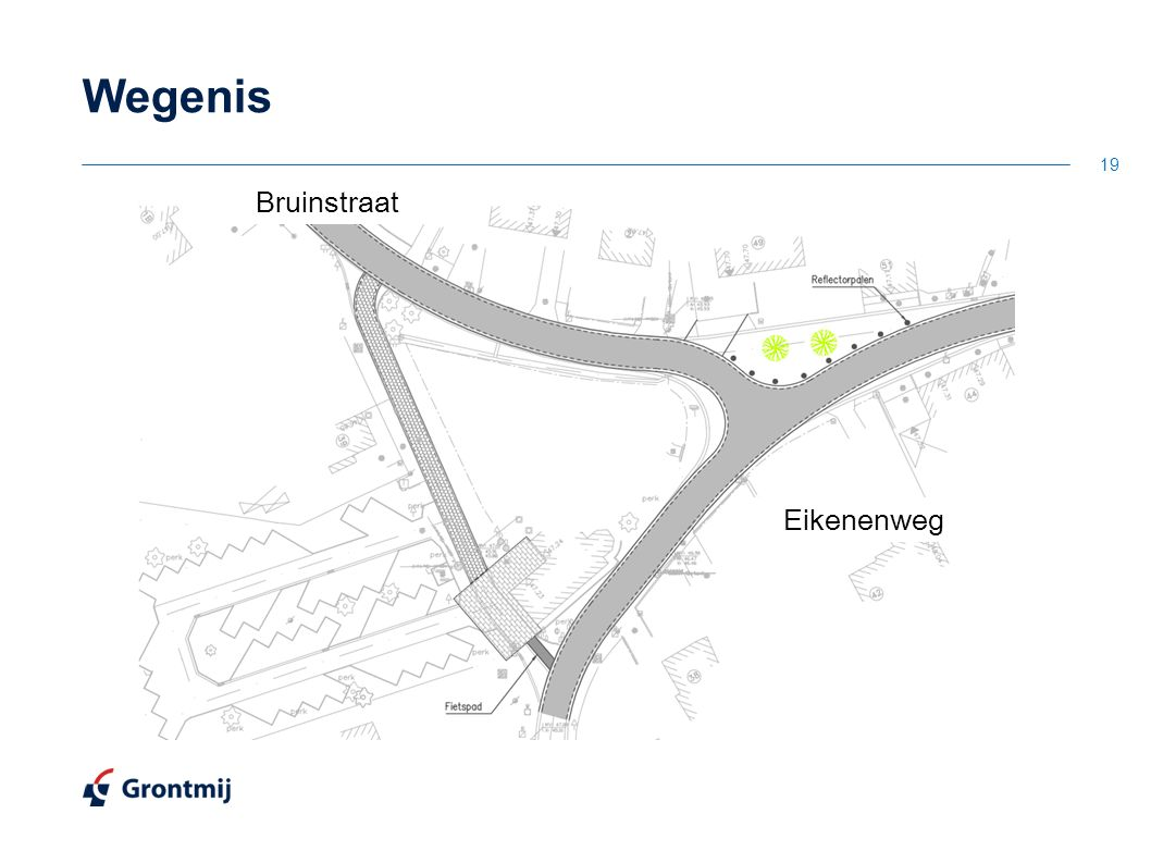 Wegenis 19 Eikenenweg Bruinstraat