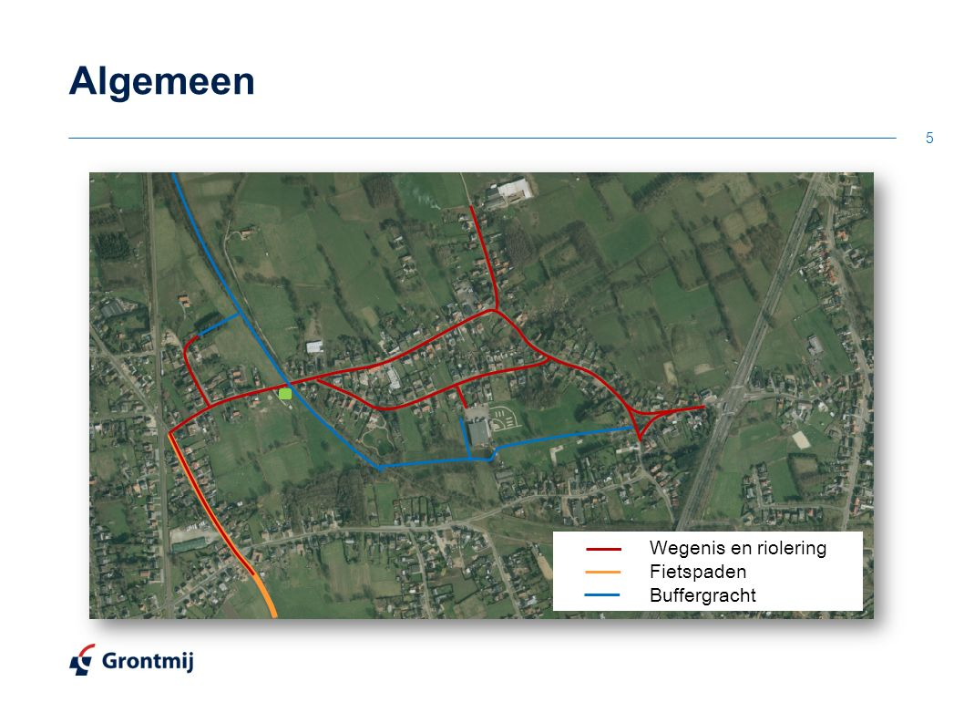 5 Wegenis en riolering Fietspaden Buffergracht