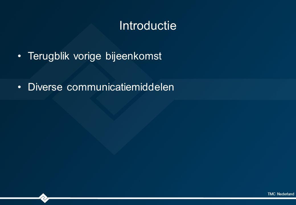 TMC Nederland Communicatie LinkedIn forum