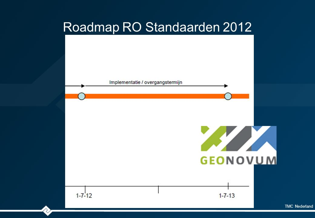 TMC Nederland SVBP2012 What's new .