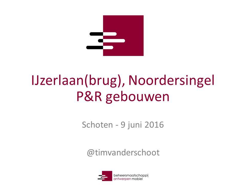 IJzerlaan(brug), Noordersingel P&R gebouwen Schoten - 9 juni 2016 @timvanderschoot