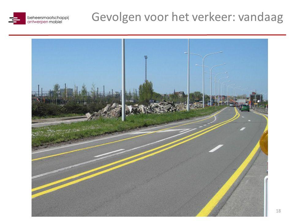 Gevolgen voor het verkeer: vandaag 18