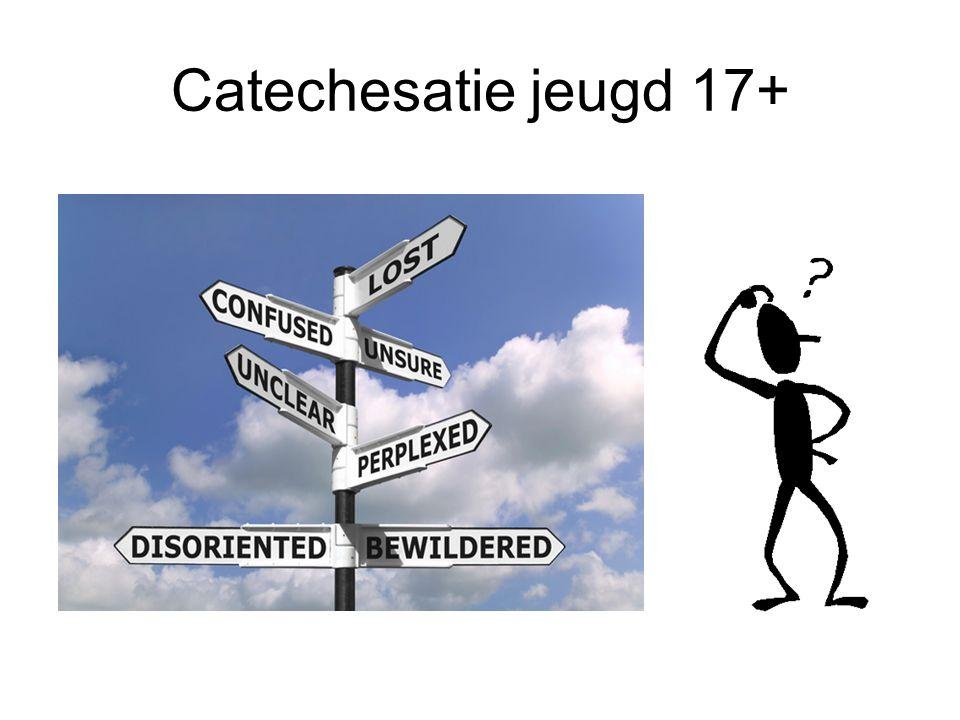 Ben je 17 jaar of ouder. Kom dan naar de informatiebijeenkomst van de catechisatie.
