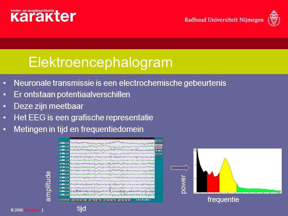 ADHD & EEG-neurofeedback 1.Neuroplasticiteit 2.Bevindingen ↑ relatief theta frequentie ↓ relatief alpha en beta frequentie ↑ theta/alpha en theta/beta ratios