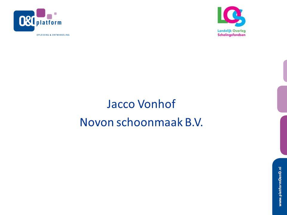Jacco Vonhof Novon schoonmaak B.V.