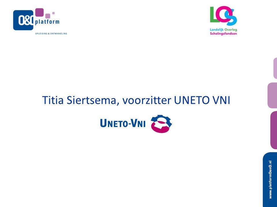 Titia Siertsema, voorzitter UNETO VNI
