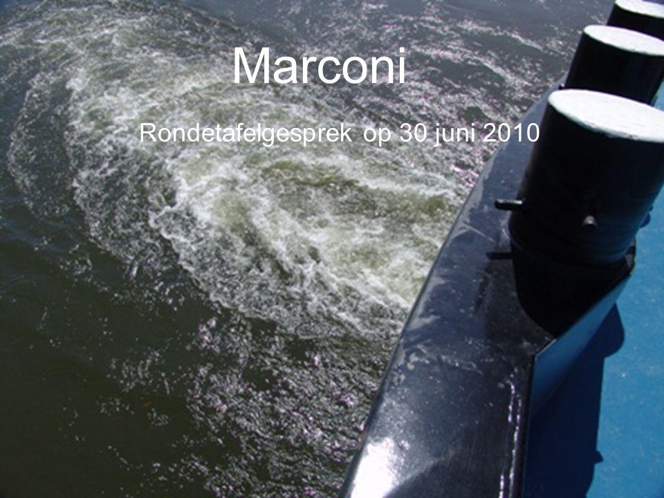 Marconi Rondetafelgesprek op 30 juni 2010