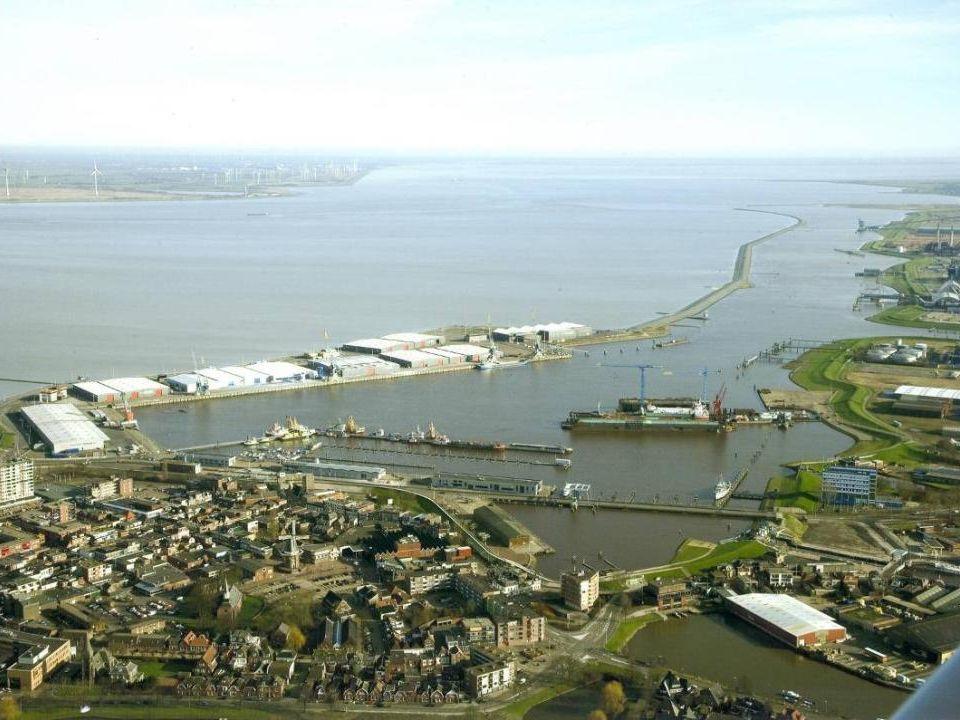 Wonen, werken, recreëren aan het Waterfront van Delfzijl