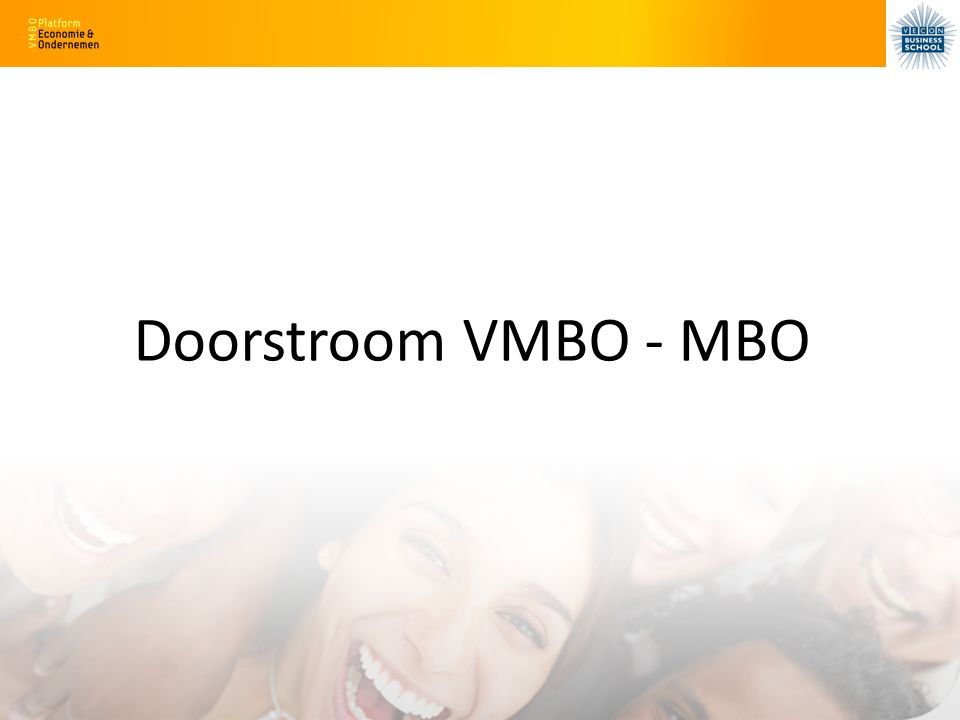 Doorstroom VMBO - MBO