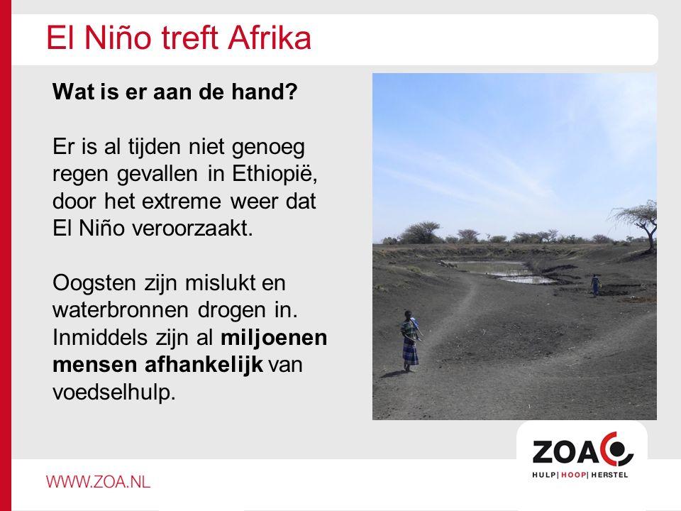El Niño treft Afrika Wat is er aan de hand.