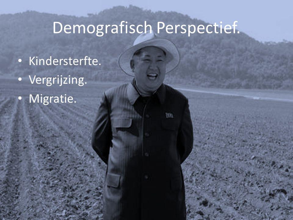 Demografisch Perspectief. Kindersterfte. Vergrijzing. Migratie.