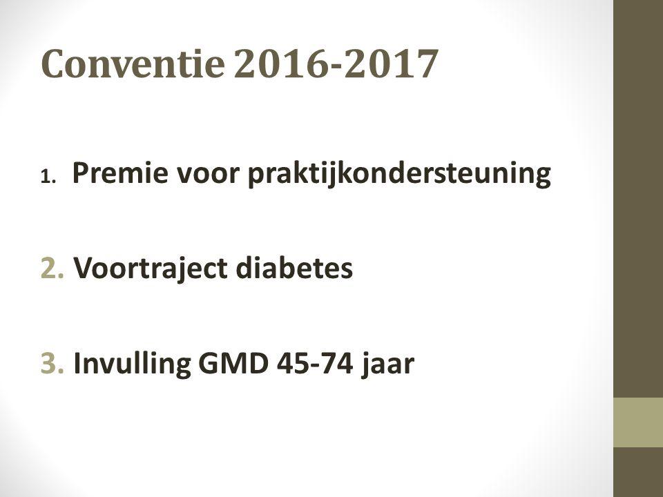 Afspraken 2016 Centrale telling: Mycarenet, Recipe, Vitalink ….