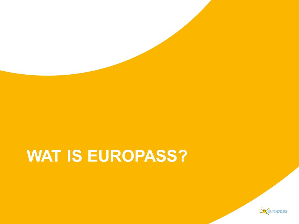WAT IS EUROPASS?