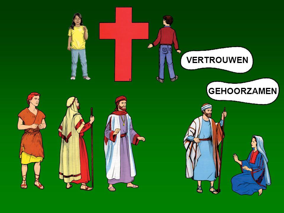 VERTROUWEN GEHOORZAMEN