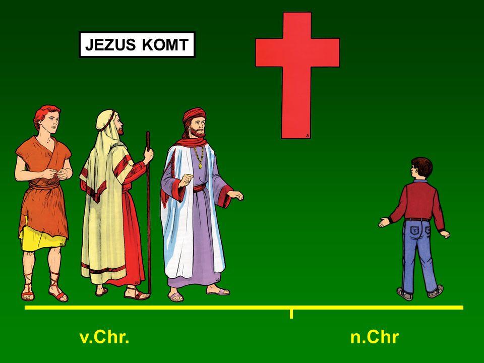 v.Chr.n.Chr JEZUS KOMT