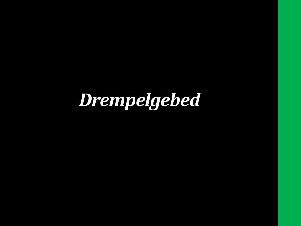Drempelgebed