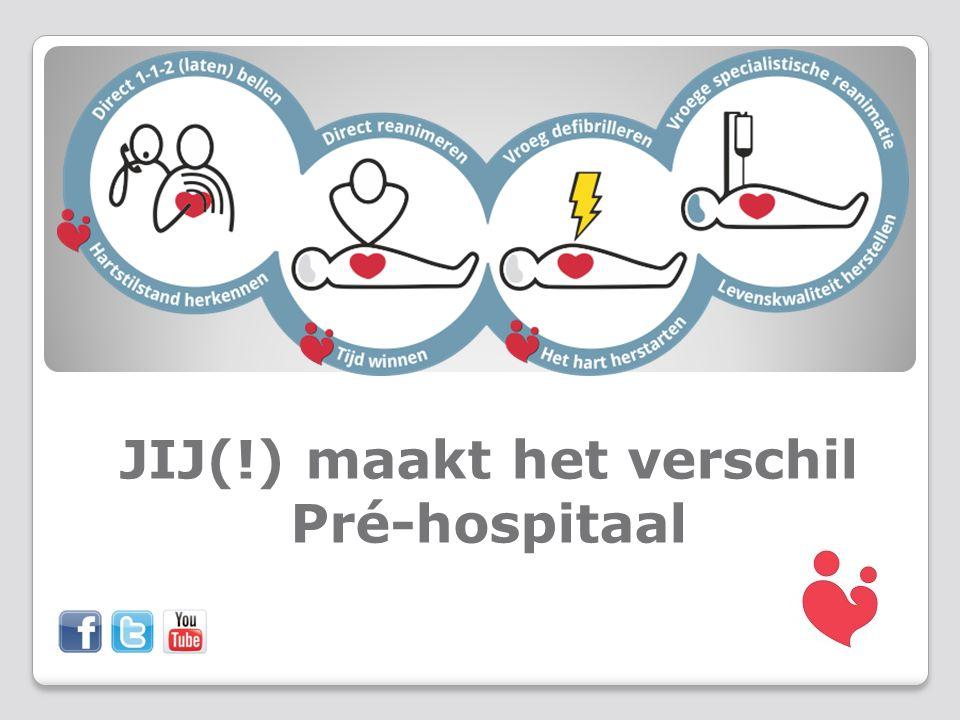 JIJ(!) maakt het verschil Pré-hospitaal