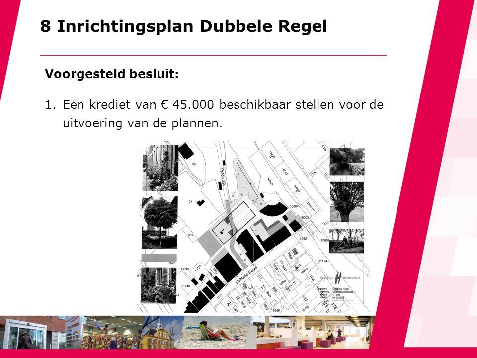 9 Vernieuwing Westindische buurt Voorgesteld besluit: 1.Een krediet beschikbaar stellen van € 392.000 voor de aanpak van de woonomgeving van de West- indische buurt in Heerenveen-Midden.