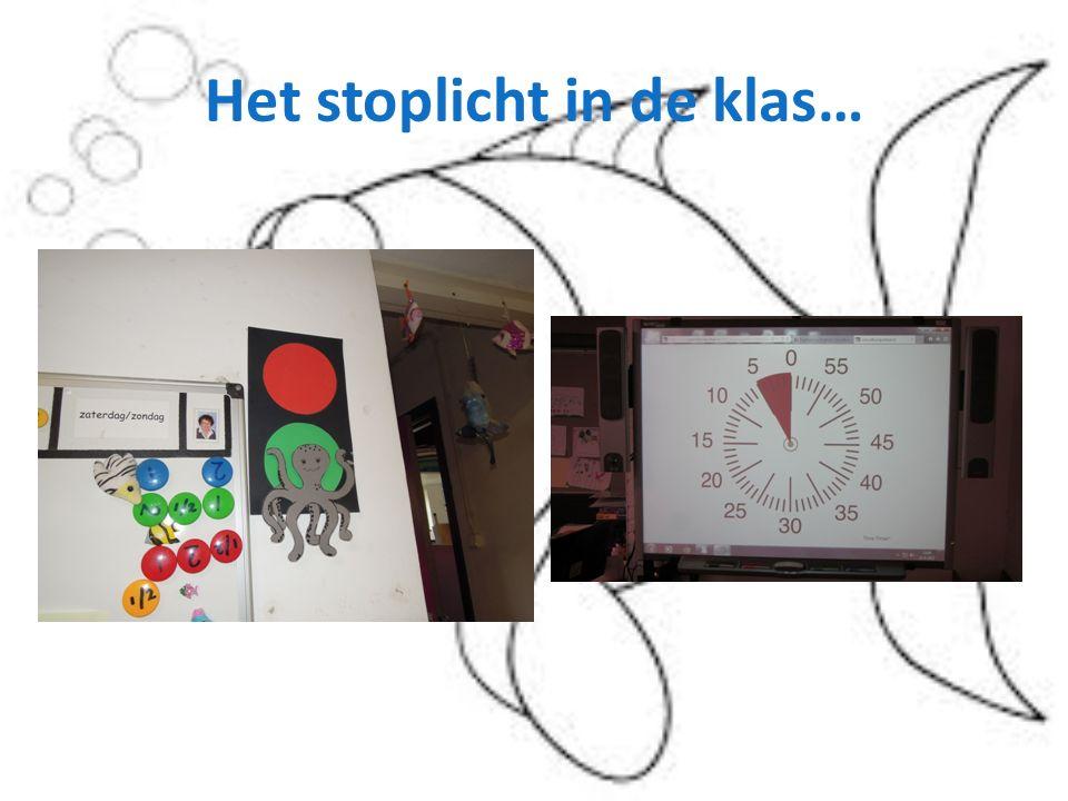 Het stoplicht in de klas…