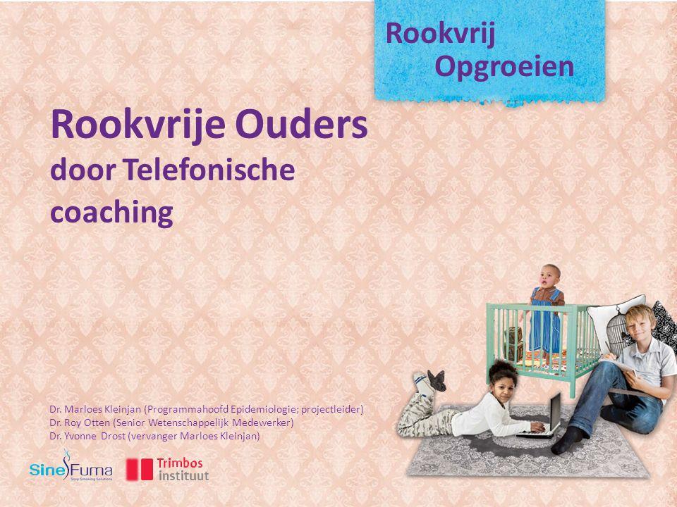 Rookvrij Opgroeien Rookvrije Ouders door Telefonische coaching Dr.