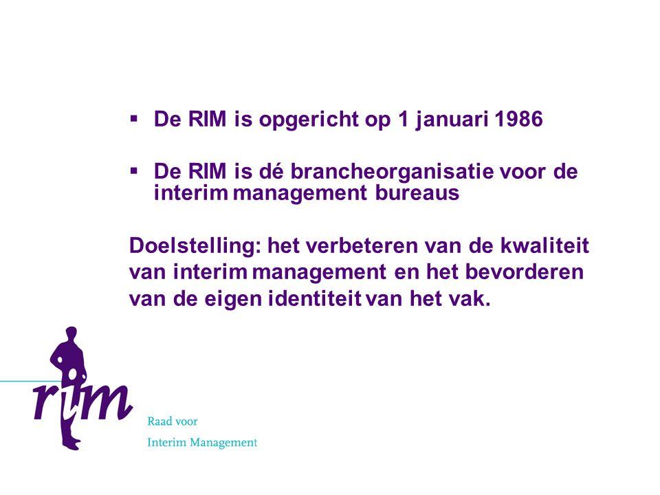 Interesse.Heeft u interesse in een RIM-lidmaatschap.