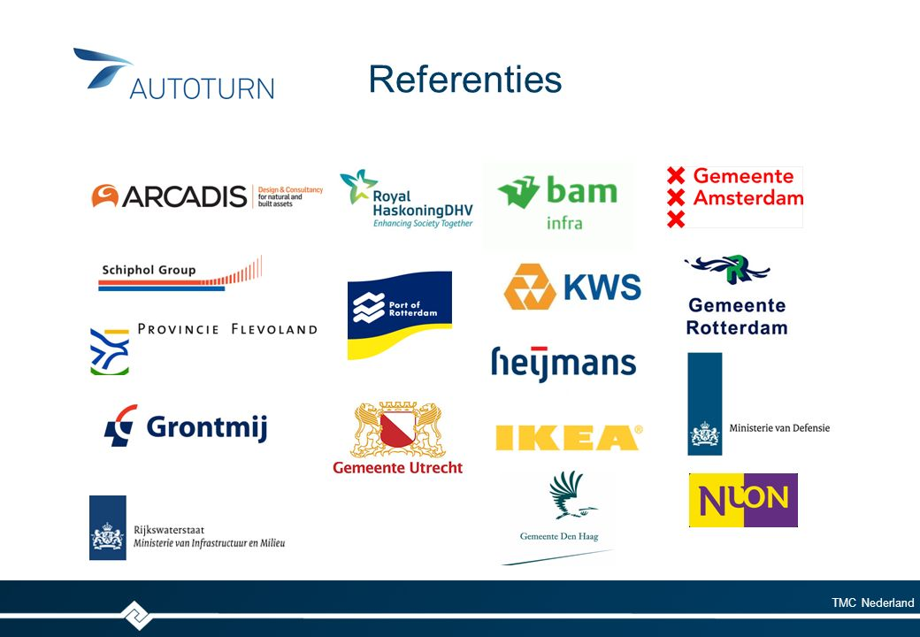 TMC Nederland Referenties