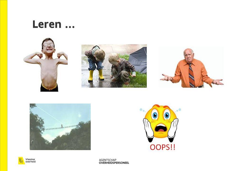 Leren …