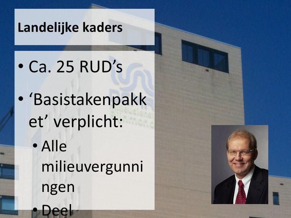 Landelijke kaders Ca.