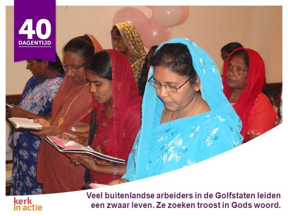Het Bijbelgenootschap van de Golfstaten helpt de kerken om hun gasten te verwelkomen.