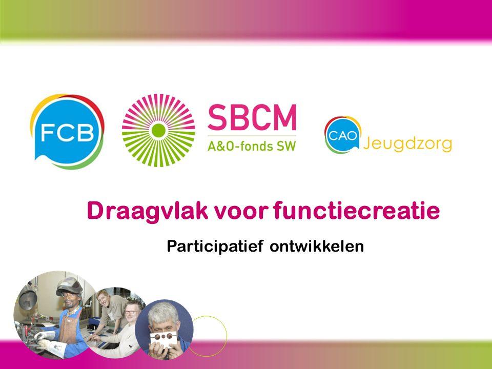 Meer informatie? Kijk op www.SBCM.nl/sectoren en op www.FCB.nlwww.SBCM.nl/sectoren www.FCB.nl