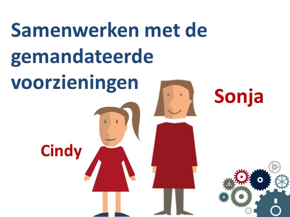 Samenwerken met de gemandateerde voorzieningen Sonja Cindy
