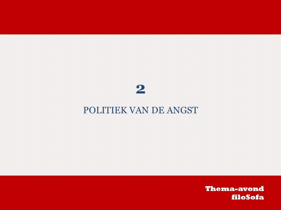 2 POLITIEK VAN DE ANGST Thema-avond filoSofa