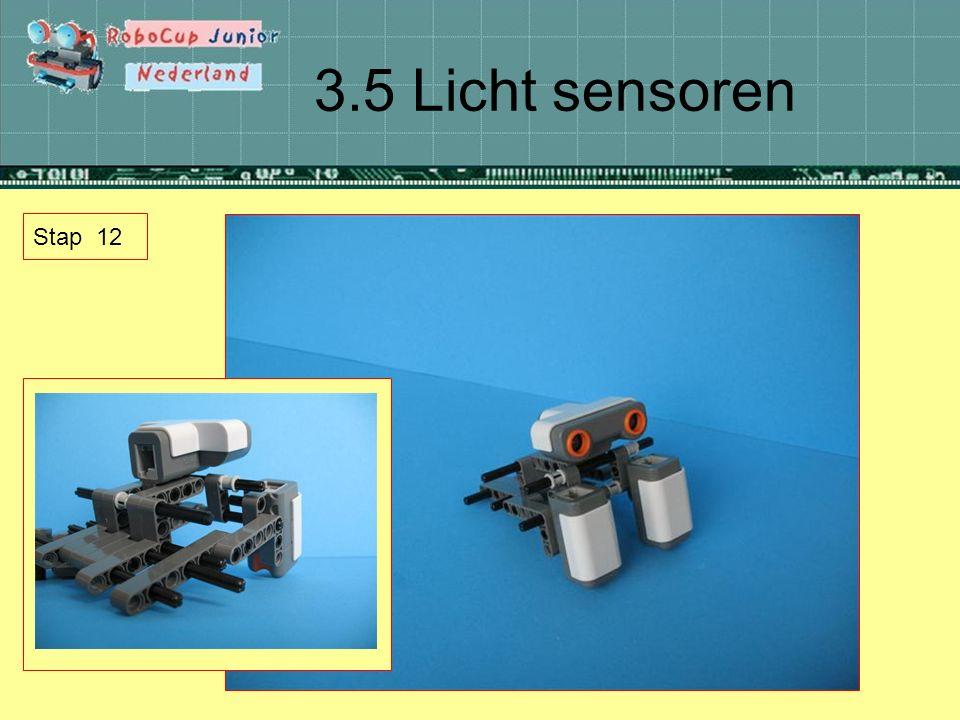 3.5 Licht sensoren Stap 12