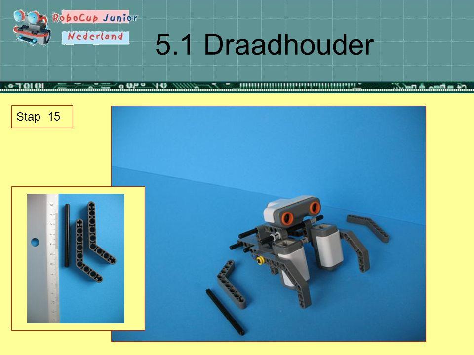 5.1 Draadhouder Stap 15