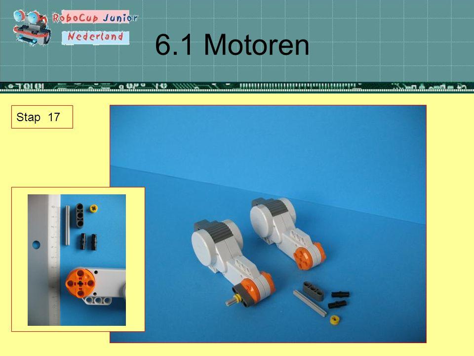 6.1 Motoren Stap 17